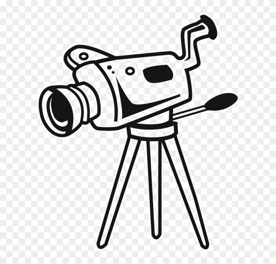 Video camera clipart jpeg image transparent stock Photo Camera Clipart Jpeg - Camera With Stand Drawing - Png Download ... image transparent stock