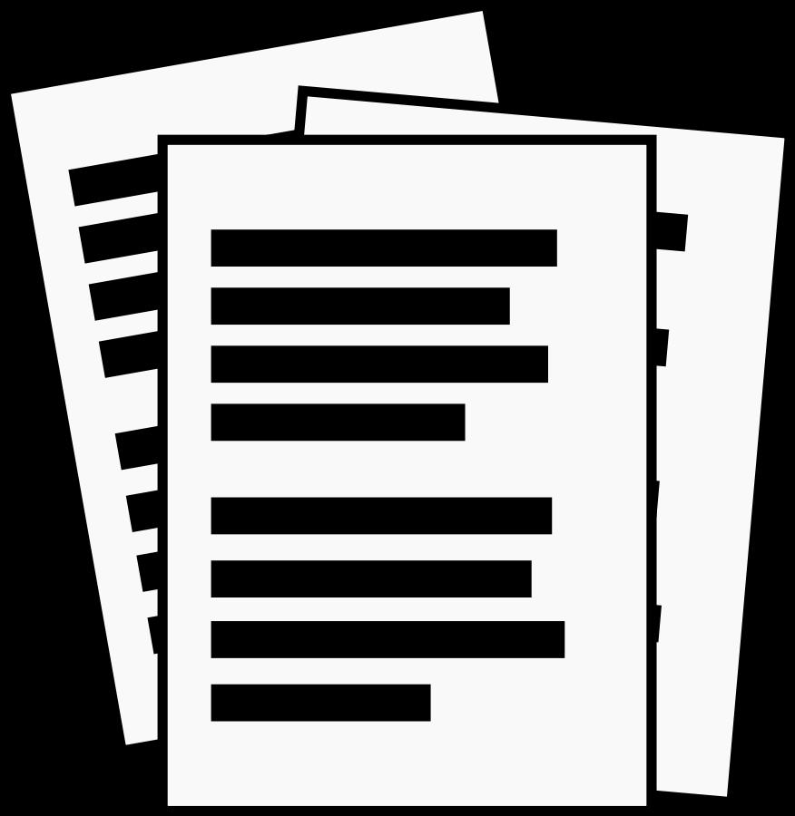 List clipart clip art black and white stock Documents Clipart & Documents Clip Art Images - ClipartALL.com clip art black and white stock