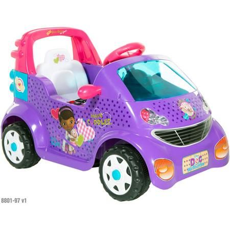 Doc mcstuffin car character clipart clipart free Doc McStuffins 6-Volt Small Car Ride-On | Kylie Grace | Pinterest ... clipart free