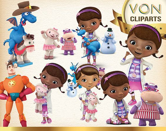 Doc mcstuffin car character clipart clip royalty free download 27 Doc Mcstuffins Clipart PNG Digital Graphic Image by VonClipArts ... clip royalty free download