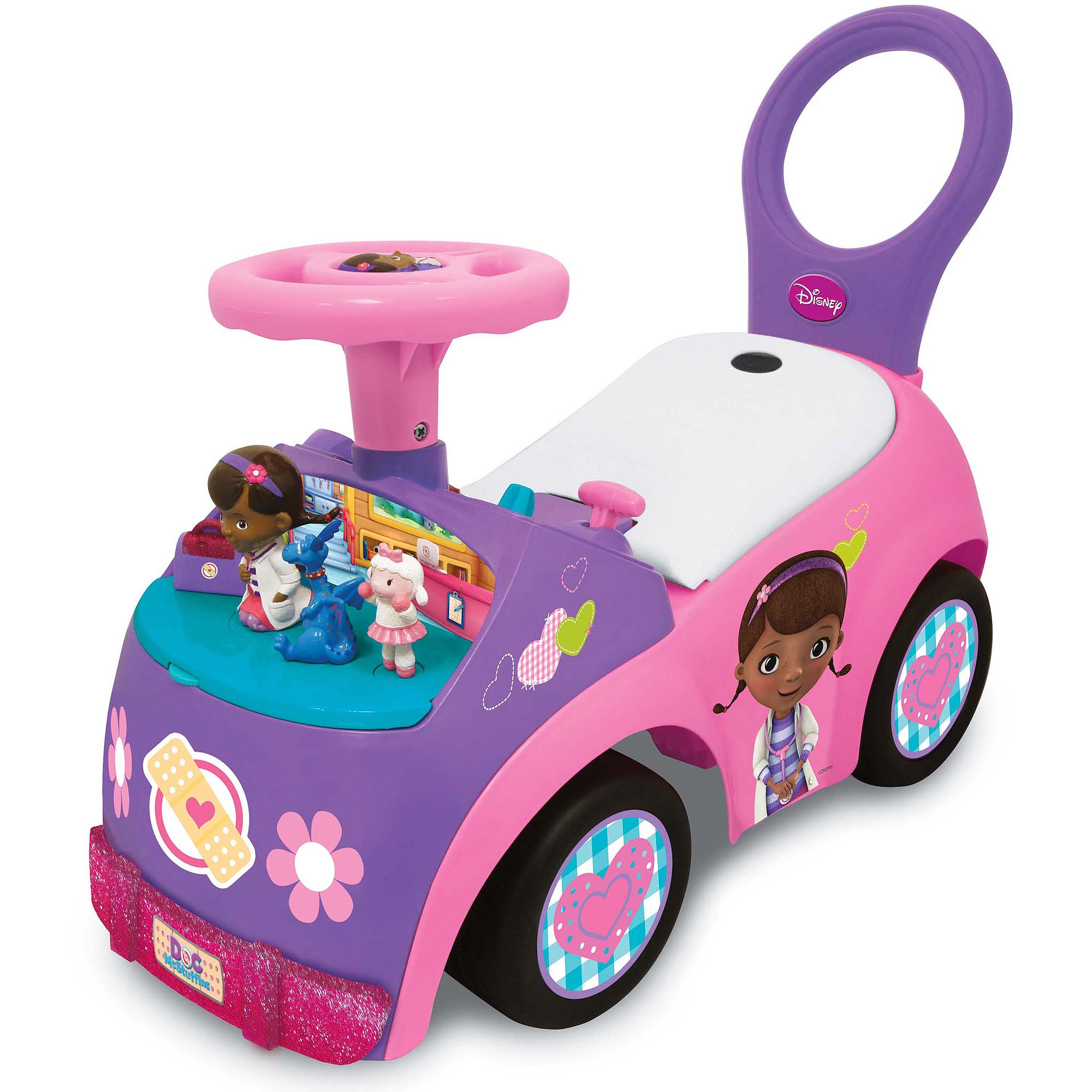 Doc mcstuffin car character clipart graphic stock Light & Sound Doc McStuffins Activity Ride On - Walmart.com graphic stock