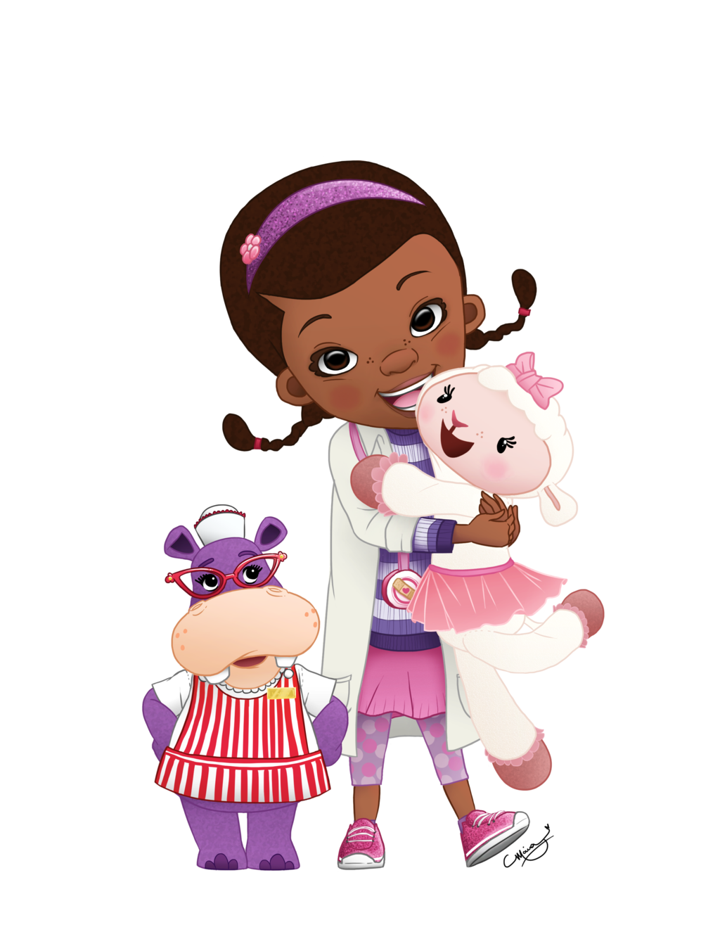 Doc mcstuffins clipart free clip black and white 17 Best images about Doutora Brinquedos; Dra Brinquedos ... clip black and white