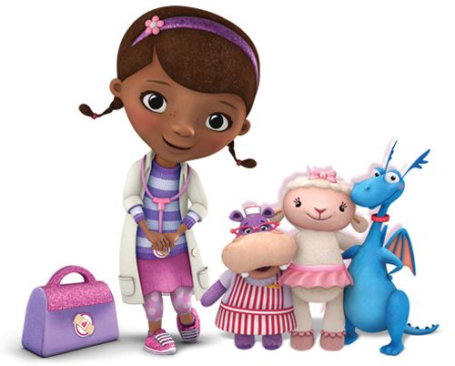 Doc mcstuffin red truck character clipart png royalty free This is Doc Mcstuffins. Doc operates on all of her toys and ... png royalty free