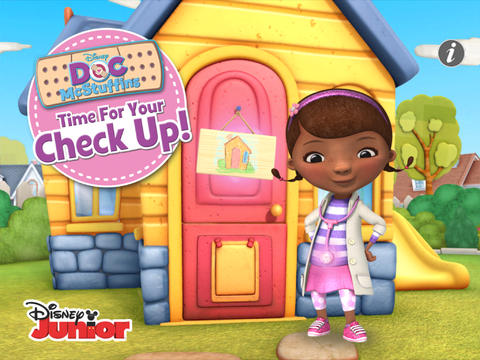 Doc mcstuffin red truck character clipart png black and white download Doc McStuffins: Time For Your Check Up! on the App Store png black and white download
