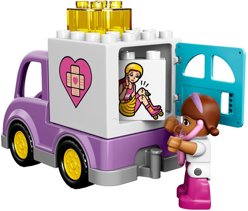 Doc mcstuffin red truck character clipart picture LEGO Duplo Disney Doc McStuffins Rosie the Ambulance 10605 | The ... picture