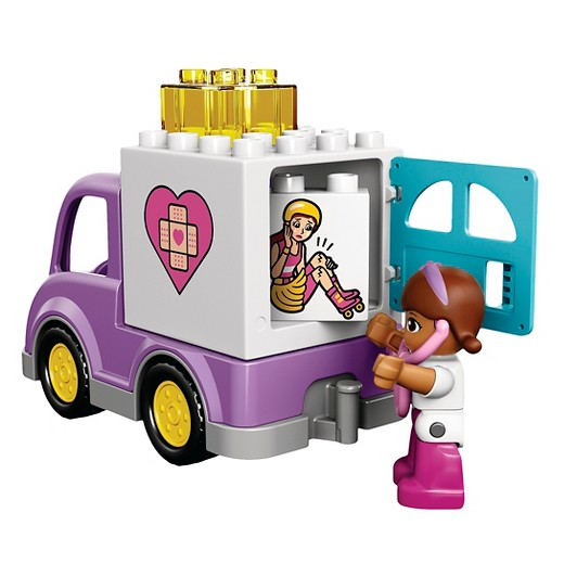 Doc mcstuffin truck character clipart vector freeuse LEGO ® DUPLO® Doc McStuffins Rosie 10605 : Target vector freeuse