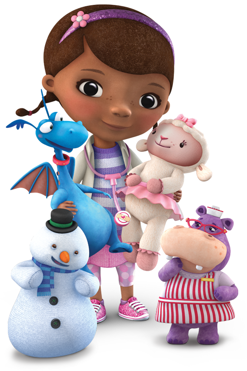 Doc mcstuffins and friends clipart free library Doc mcstuffins kids iron on t shirt transfer * custom *quality ... free library