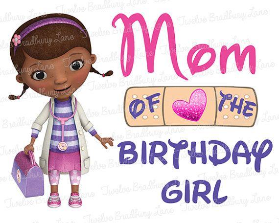 Doc mcstuffins 1st birthday clipart.  best images about