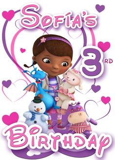 Doc mcstuffins 1st birthday clipart clip art freeuse library Doc mcstuffins 3rd birthday clipart - ClipartFest clip art freeuse library