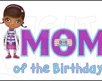 Mom etsy of the. Doc mcstuffins 1st birthday clipart