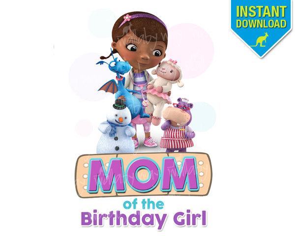 Doc mcstuffins 1st birthday clipart. Tutu etsy mom of
