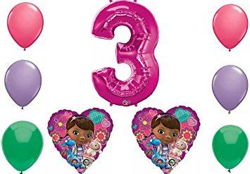 Doc mcstuffins 3rd birthday clipart picture free download Amazon.com: Disney Doc Mcstuffins Happy 3rd Birthday Party Balloon ... picture free download