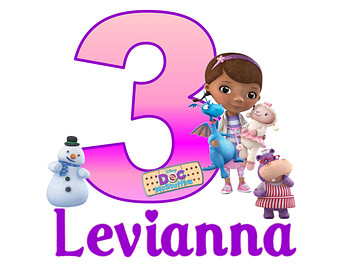 Doc mcstuffins 3rd birthday clipart png transparent library Gallery For > Doc McStuffins Birthday Clipart png transparent library