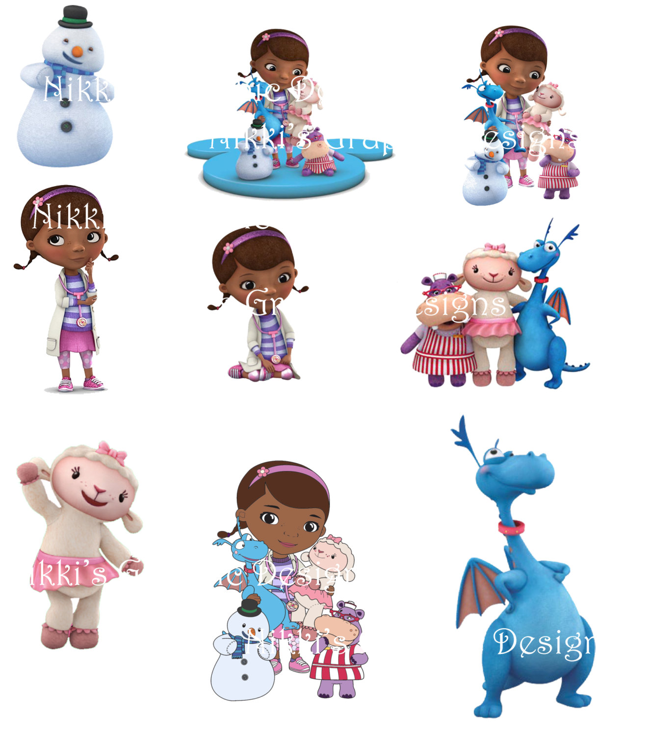 Doc mcstuffins and friends clipart banner freeuse Doc mcstuffins and friends clipart - ClipartFest banner freeuse