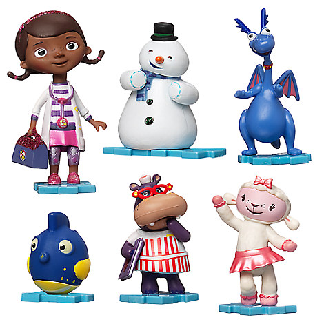 Doc mcstuffins and friends clipart free library Disney Doc McStuffins Custom Ornament Set-6pcs. Connect Together ... free library