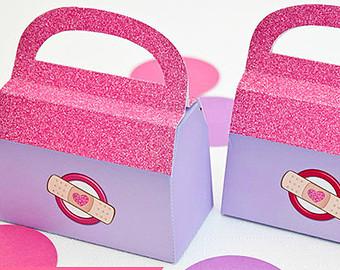 Gift etsy doctor favor. Doc mcstuffins bag clipart