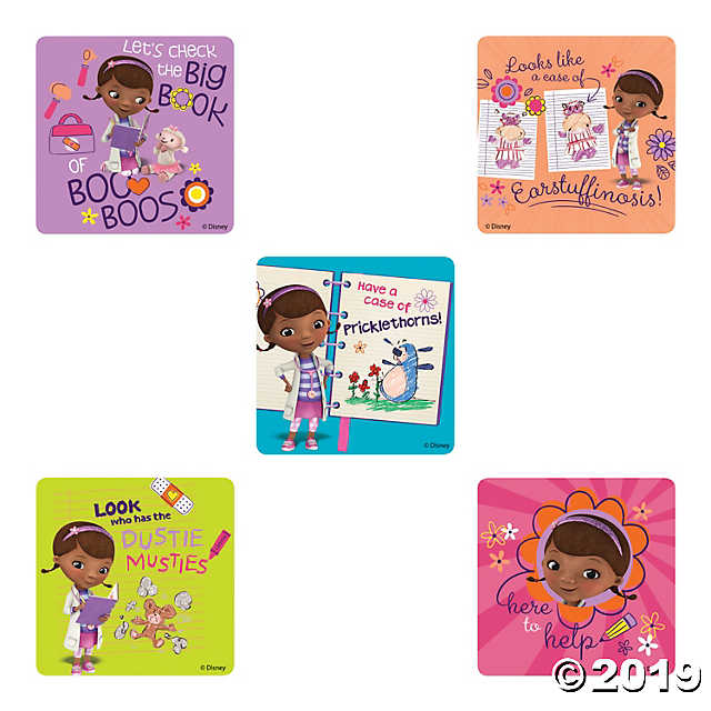 Doc mcstuffins big book or boo boos clipart clipart transparent library Doc McStuffins: Big Book of Boo Boos Stickers - Discontinued clipart transparent library
