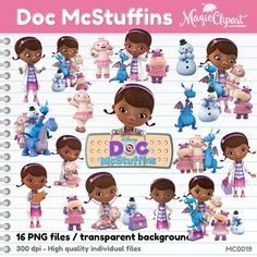 Doc mcstuffins clipart no background svg transparent stock 27 Doc Mcstuffins Clipart PNG Digital Graphic Image by VonClipArts ... svg transparent stock