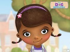 Disney jr and nu. Doc mcstuffins face clipart