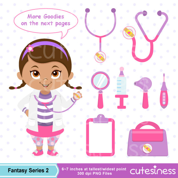 Doc mcstuffins stethoscope clipart svg royalty free library Doctor Clipart Doctor Clip Art Little Doctor Clipart Doc svg royalty free library