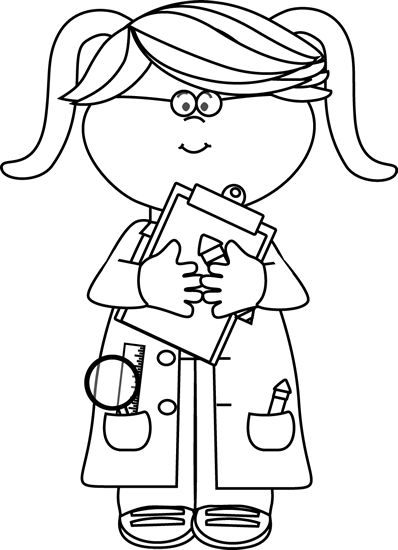 Doctor and kid clipart black and white banner transparent stock Kid Doctor Clipart Black And White - Clip Art Library banner transparent stock