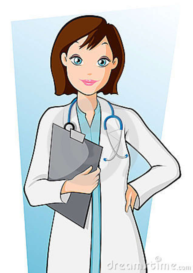 The doctor is in clipart transparent Female doctor clipart images clipartfest - Cliparting.com transparent