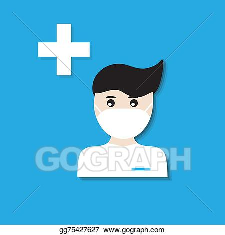 Doctor icon clipart transparent library Vector Stock - Medical doctor icon. Clipart Illustration gg75427627 ... transparent library