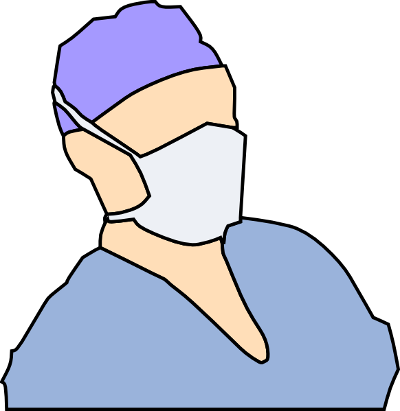 Doctor mask clipart