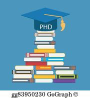 Doctor of philosophy clipart banner library library Phd Clip Art - Royalty Free - GoGraph banner library library