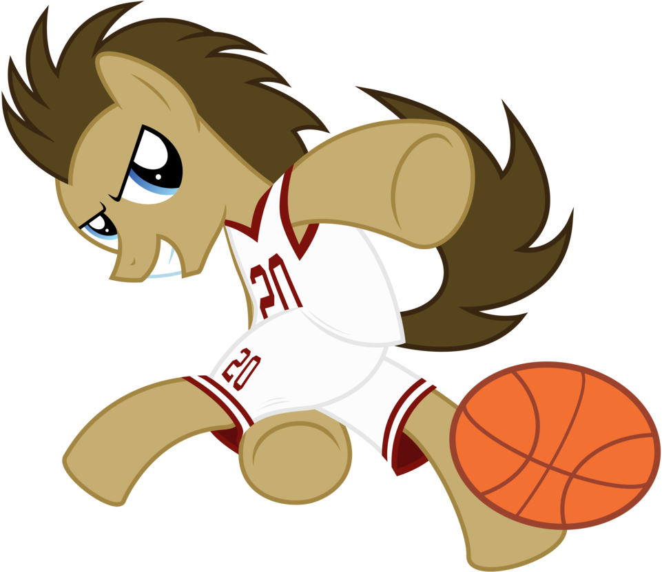 Doctor playing basketball clipart image library library Dr. Hooves - Ballin' by CaliAzian on DeviantArt image library library