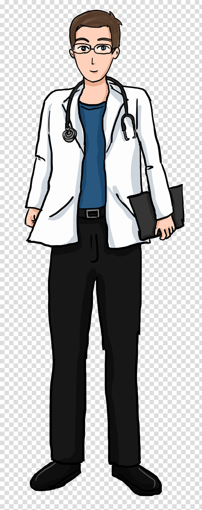 Doctor suit clipart graphic black and white library Physician Free content Medicine , Old Doctor transparent background ... graphic black and white library