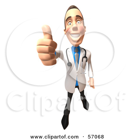 Doctor thumbs up clipart. Royalty free rf of