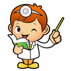 Doctor thumbs up clipart graphic Cartoon Little Doctor Reading A Book And Giving A Thumbs Up By ... graphic
