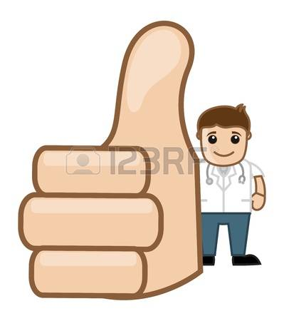 Doctor thumbs up clipart svg transparent stock 291 Doctor Cartoon Thumbs Up Cliparts, Stock Vector And Royalty ... svg transparent stock