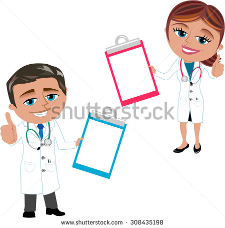 Stock vectors images vector. Doctor thumbs up clipart