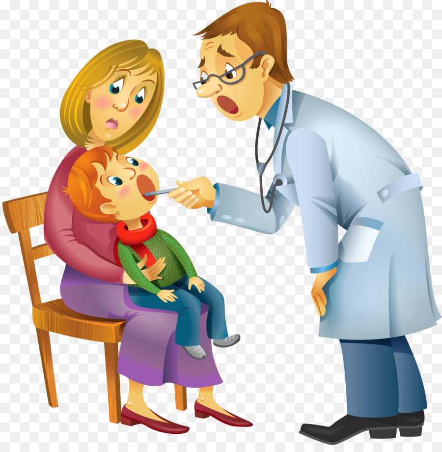 Doctor with babgy clipart transparent background clipart freeuse stock Child Cartoon png download - 4965*5000 - Free Transparent Health ... clipart freeuse stock