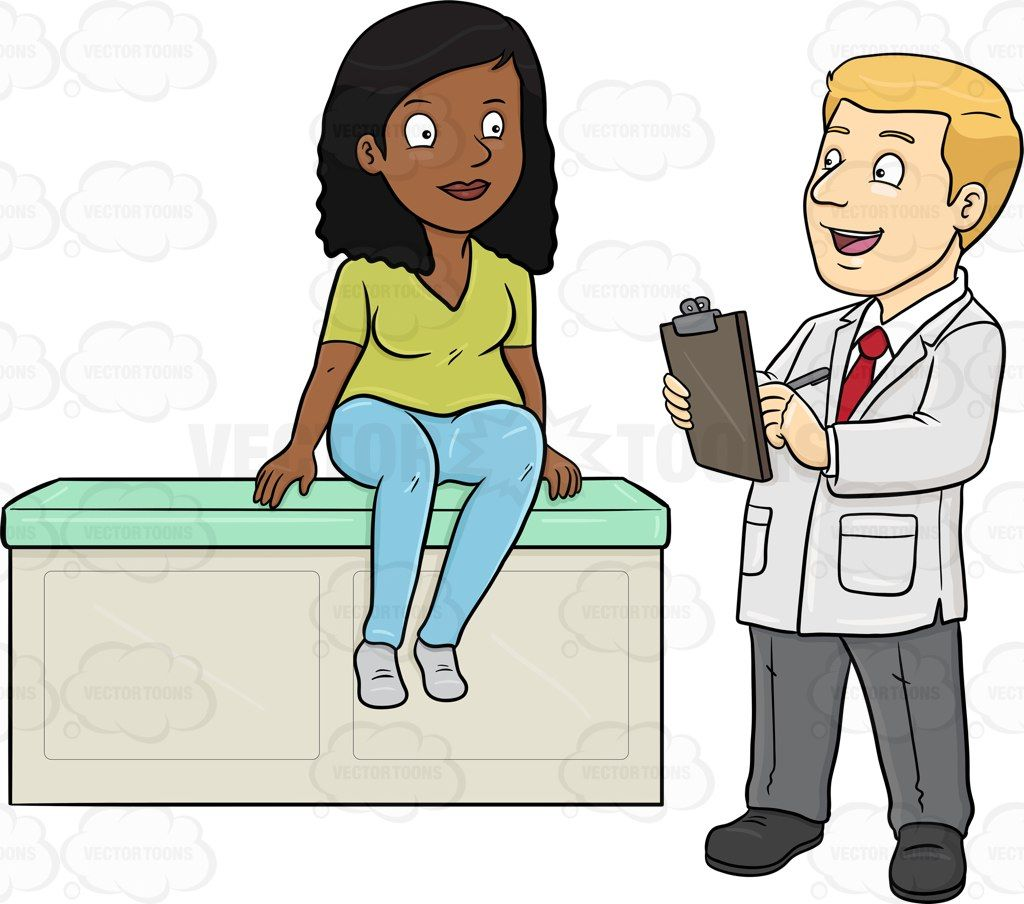 Pacient clipart svg freeuse stock Image result for doctor and patient talking clipart | cartoons 3 ... svg freeuse stock