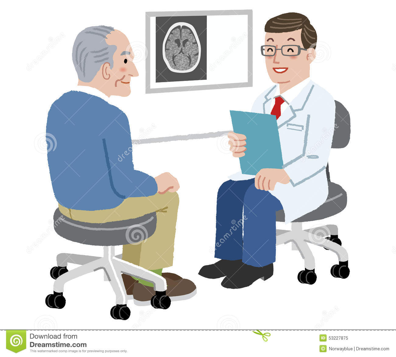 Doctor with patient clipart black and white library Doctor patient communication clipart 10 » Clipart Station black and white library