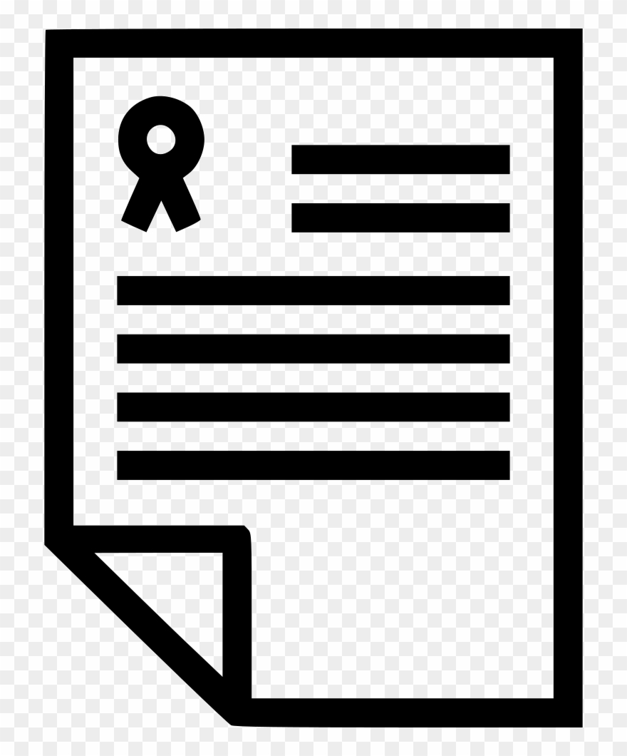 Document clipart icon graphic black and white Legal Document Svg Png Icon Free Download - Legal Document Document ... graphic black and white