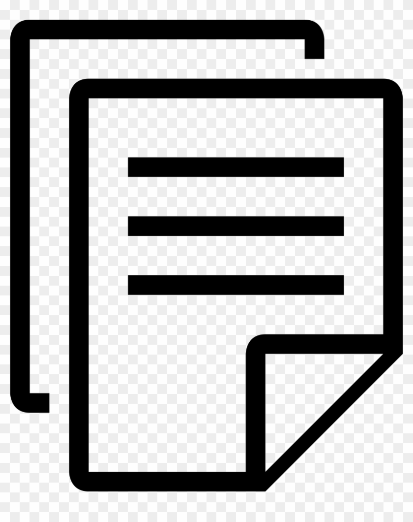 Document clipart icon vector download Document Clipart Svg - Documents Icon Svg, HD Png Download - 818x980 ... vector download