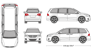 Dodge caravan clipart image library library mr-clipart image library library