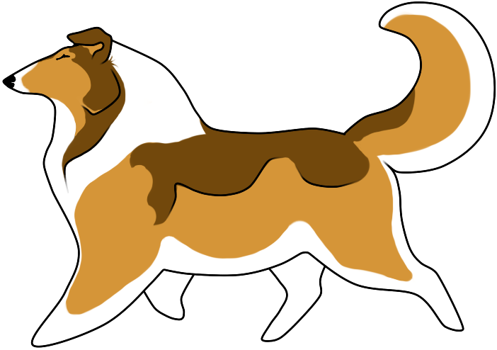 Dog stuff clipart graphic transparent Колли Clipart # 1 | Животные | Pinterest | Collie, Shetland sheepdog ... graphic transparent
