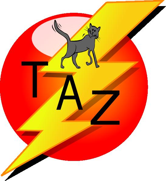 Dog agility clipart free clipart Taz Decal Clip Art at Clker.com - vector clip art online, royalty ... clipart