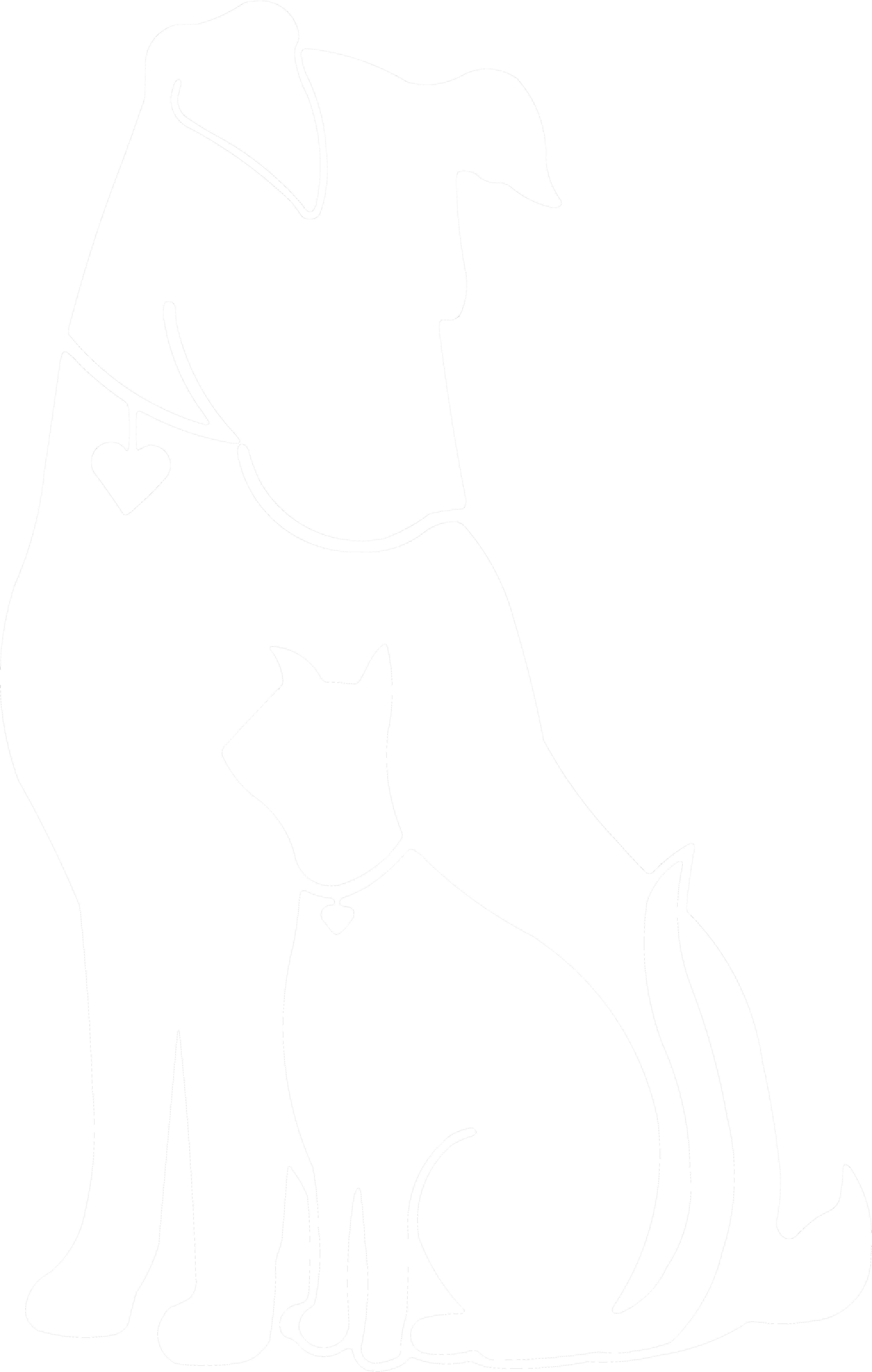 Dog and cat black and white clipart banner stock Cat And Dog PNG Black And White Transparent Cat And Dog Black And ... banner stock