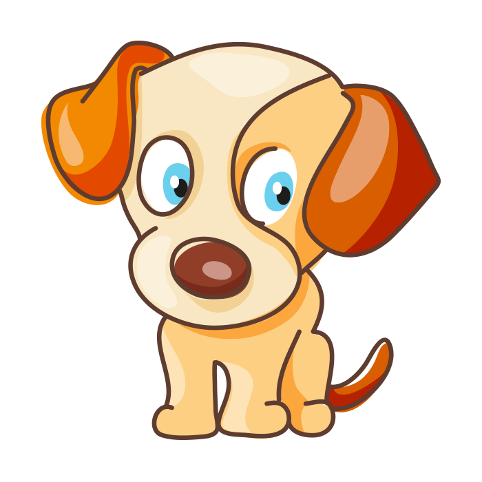 Dog and cat border clipart graphic freeuse library Cats & Dogs Wall Decors for Children, Baby Beagle Sticker graphic freeuse library