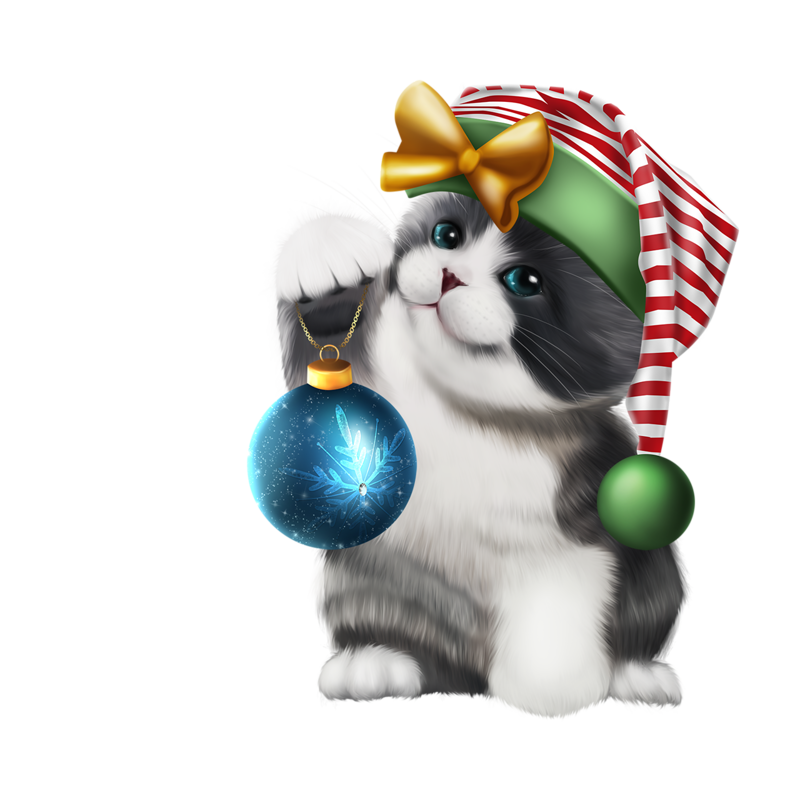 Dog and cat christmas clipart clip transparent download ╰⊰✿GS✿⊱╮ | Christmas | Pinterest | Christmas animals and Rubrics clip transparent download