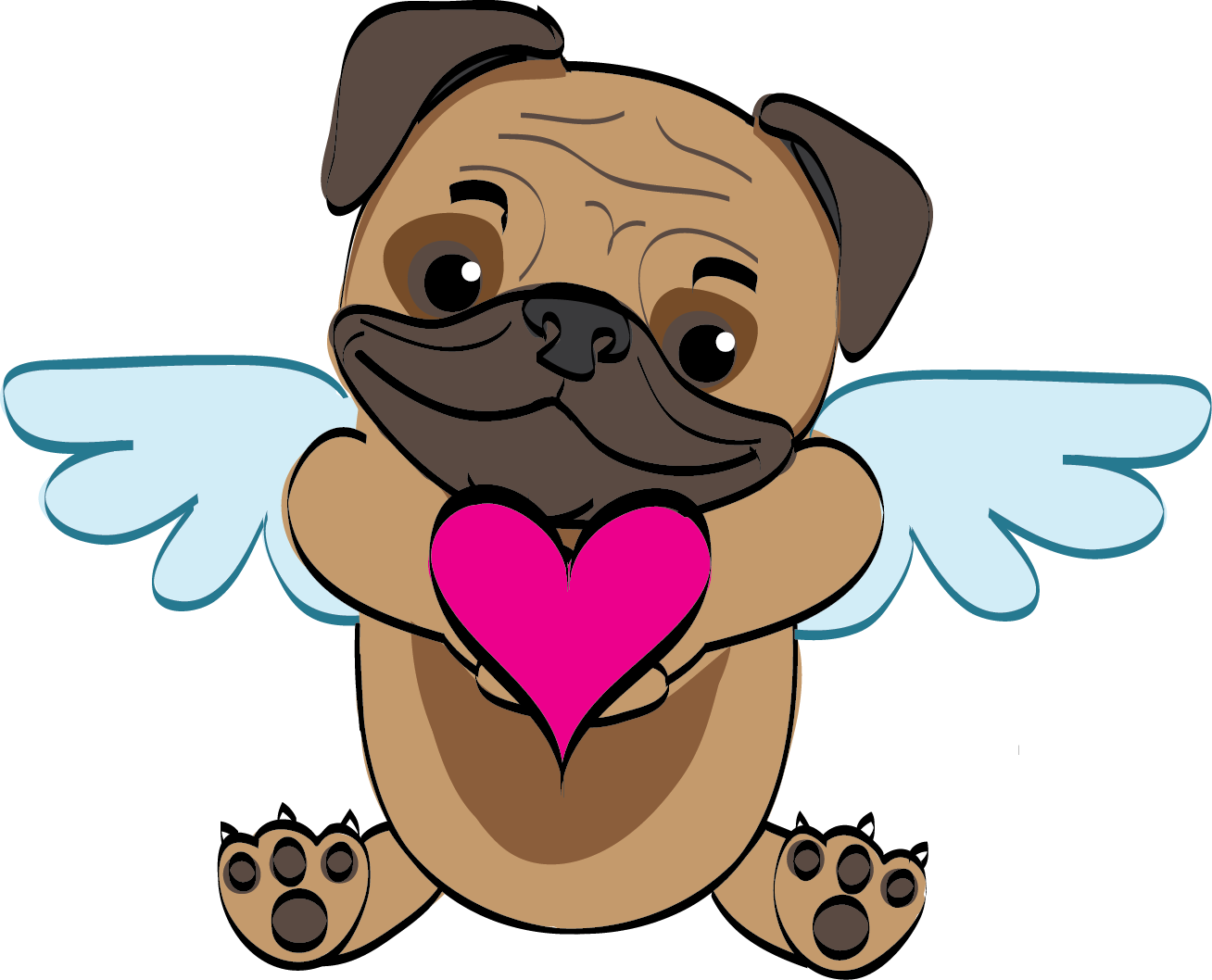Dog and cat friends clipart jpg library download Weekly Pet Flyer: February 9, 2017 - Humane Society of Broward ... jpg library download