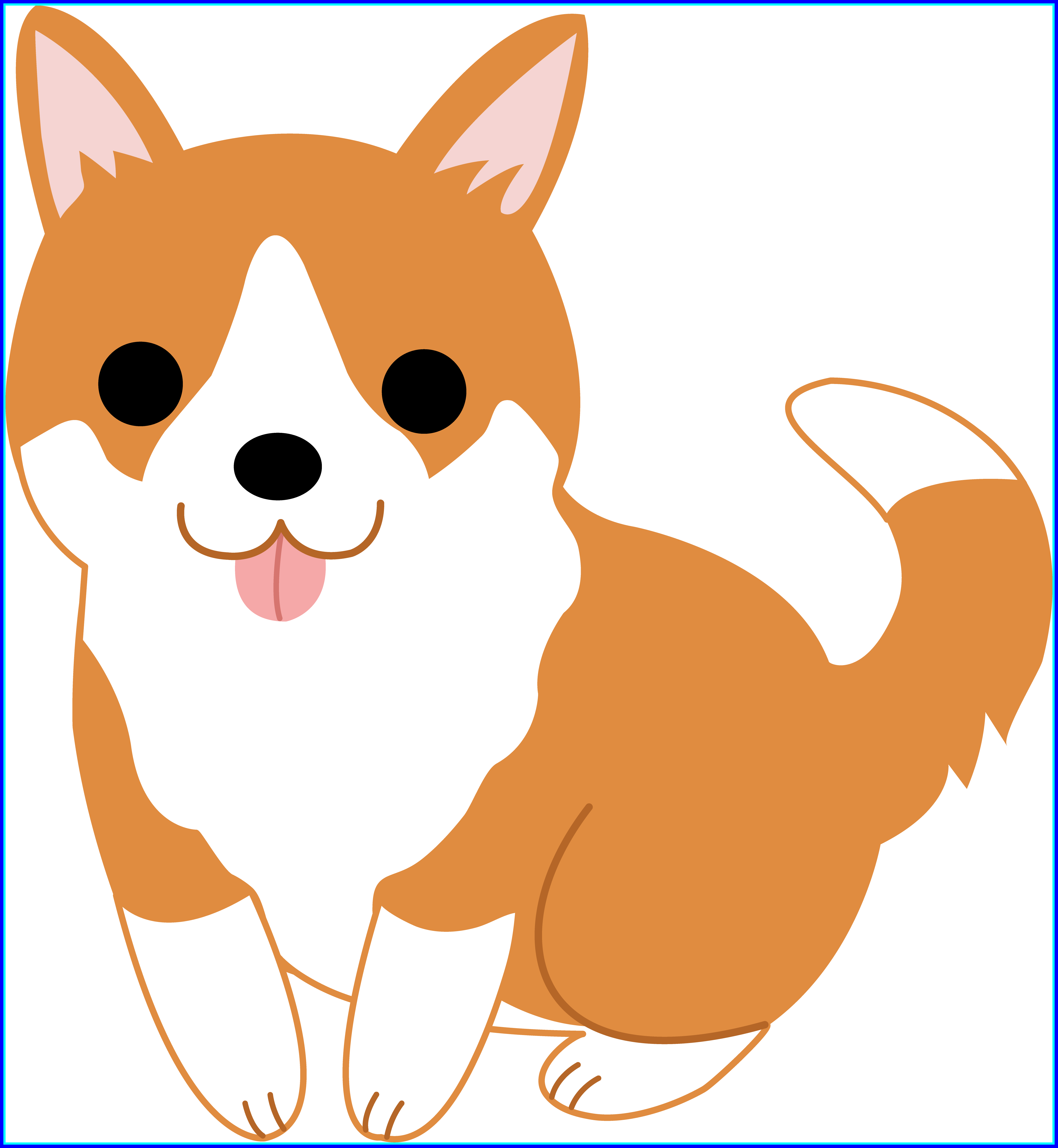 Shocking easy puppy cliparts. Dog holding sign clipart