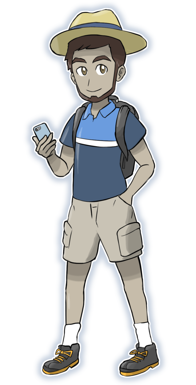 Dog ate my homework clipart clipart royalty free stock Let Me Make Your Pokemon GO Trainer Art! by ElStrawFedora on DeviantArt clipart royalty free stock