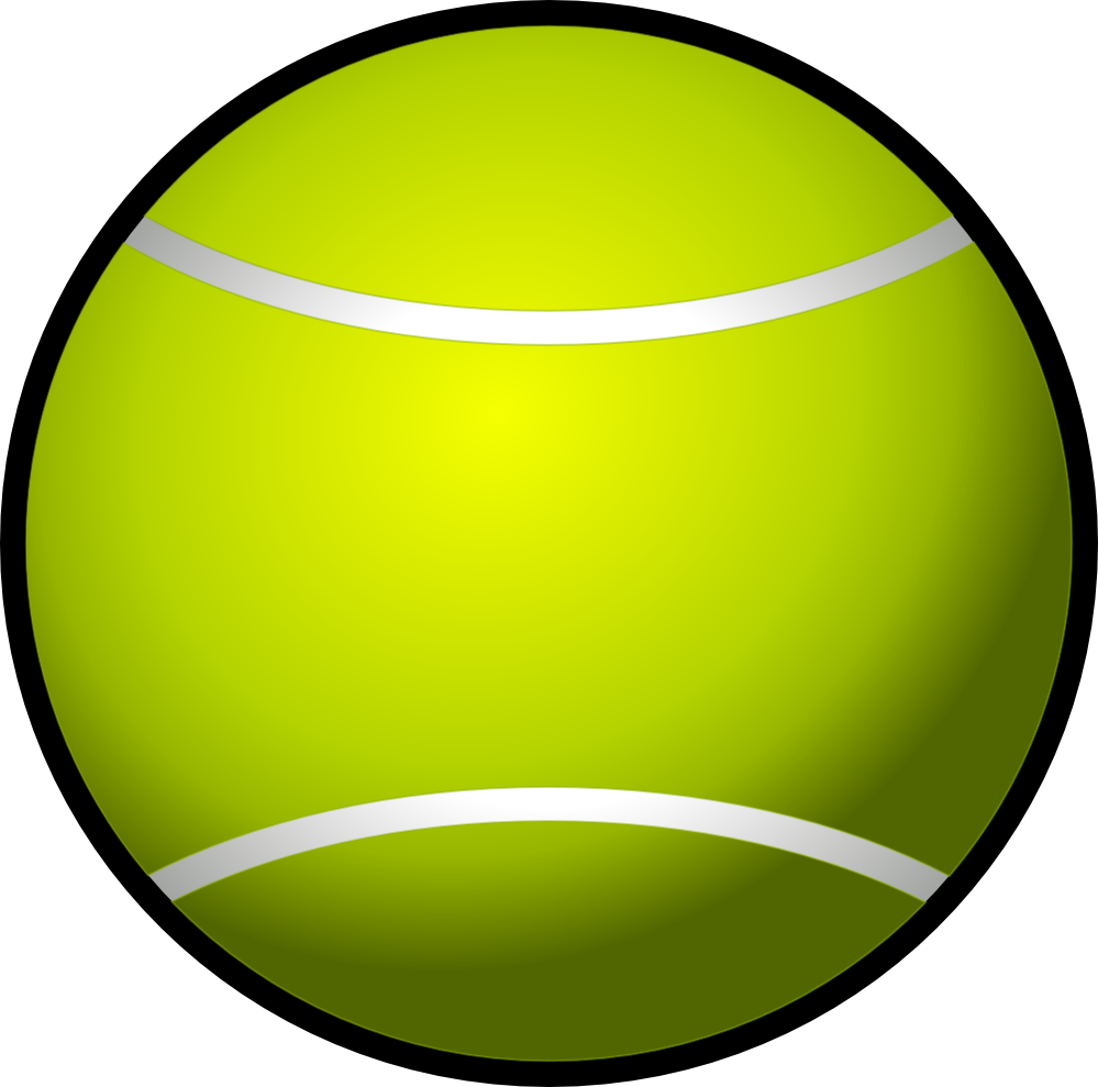 Dog ball clipart jpg library stock 28+ Collection of Lawn Tennis Ball Clipart | High quality, free ... jpg library stock